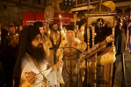 Πορεία προς το Πάσχα στην Βυζαντινή Θεσσαλονίκη: Ανάσταση στον Ι. Ν. Παναγίας Λαοδηγητρίας.