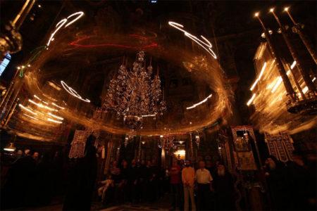 «Μυστήριον ξένον» Δ. Σουρλαντζή, Ειρμός Θ΄ ωδής Χριστουγέννων (Βατοπαιδινός Χορός)