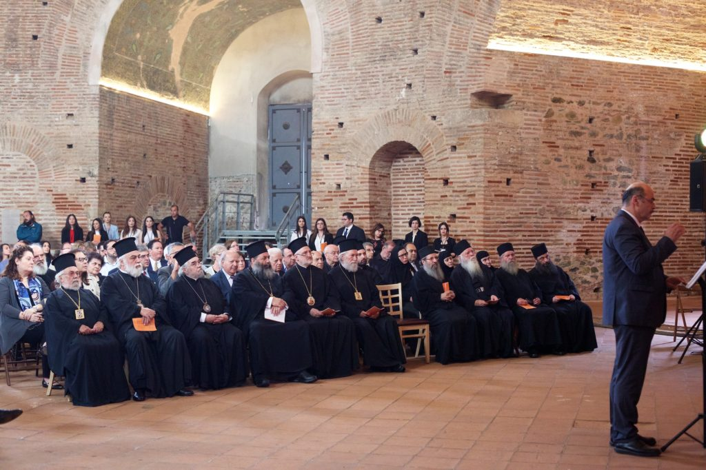 8ο Διεθνές Συνέδριο Ορθοδόξου Θεολογίας: Μουσική εκδήλωση στη Ροτόντα με την χορωδία «Ρωμανός ο Μελωδός»