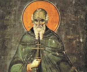 Ο Άγιος Αθανάσιος ο Αγιορείτης συνδράμει στην αντιγραφή της εικόνας του! |  Πεμπτουσία
