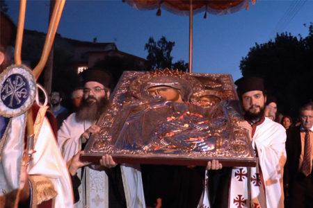 Υποδοχή της Παναγίας Παραμυθίας στον Άγιο Τύχωνα Λεμεσού