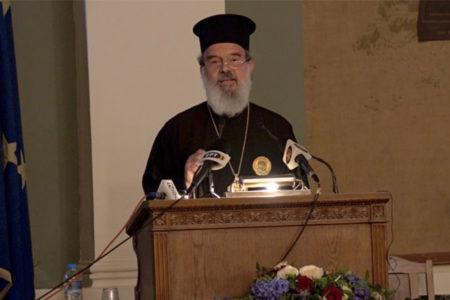 Έπαινος Πάπα και Πατριάρχη Αλεξανδρείας κ.κ. Θεόδωρο από τον Πρωτοπρ. Βασίλειο Καλλιακμάνη