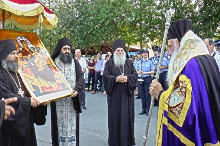 Υποδοχή της Παναγίας Παντανάσσης στον Ιερό Ναό Αρχαγγέλου Μιχαήλ Παρεκκλησιάς Λεμεσού