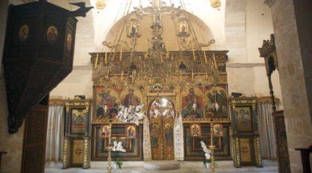Θεία Λειτουργία στην Ι. Μονή Παναγίας Οδηγήτριας Γωνιάς Χανίων