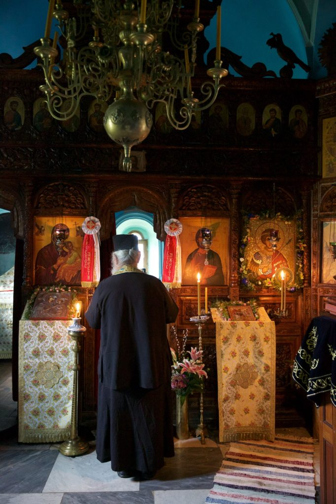 Άγιον Όρος: Κελλίον Αγίου Γεωργίου στίς Καρυές. Κτητορικό Μνημόσυνο. Γέρων Μελίτων.