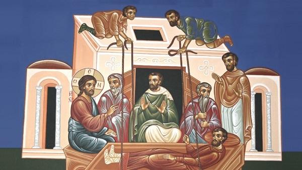 Η θεραπεία του παραλυτικού της Καπερναούμ και η μνήμη του Αγίου  Μεγαλομάρτυρος Προκοπίου | Πεμπτουσία
