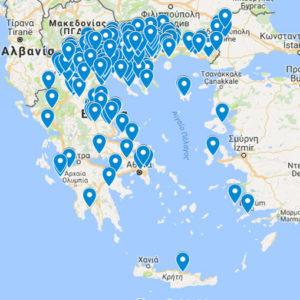 Χάρτης προσφυγικών οικισμών της Ελλάδας-Εκστρατεία για τον πολιτισμό Θράκης, Μικράς Ασίας, Πόντου και Καππαδοκίας