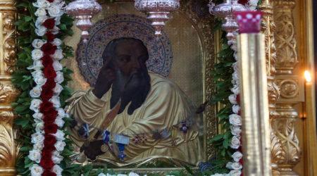 Άγιον Όρος: Στην Σκήτη του Προφήτη Ηλία για την Ιερά Πανήγυρη (2018)