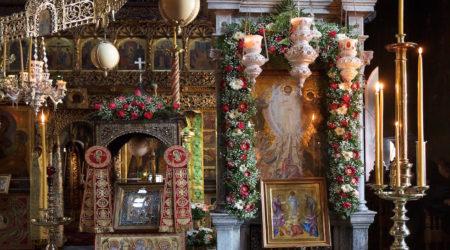Άγιον Όρος: Εορτή της Μεταμορφώσεως, πανήγυρη στην Ι. Μ. Παντοκράτορος