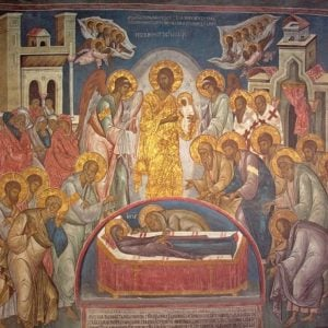 Θεολογία και ερμηνεία στην εικόνα της Κοιμήσεως της Θεοτόκου