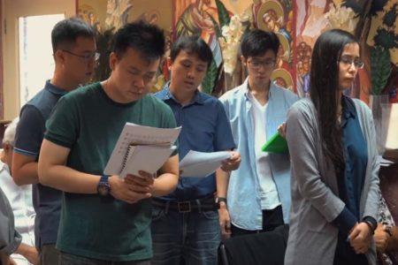 Φανερών σεαυτόν, τοις Μαθηταίς σου Σωτήρ… : Από τη μακρινή Σιγκαπούρη