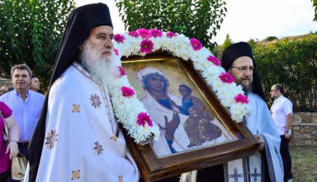 Γιορτάζοντας την Παναγία αγιορείτικα στην Λήμνο