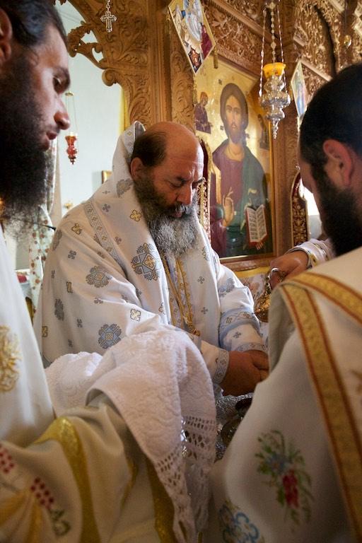 Πανηγυρική Αρχιερατική Θεία Λειτουργία 2018, Μονή της Παναγίας της Θεοσκεπάστου Σοχού  στο Μετόχι της Ι. Μονής Δοχειαρίου.