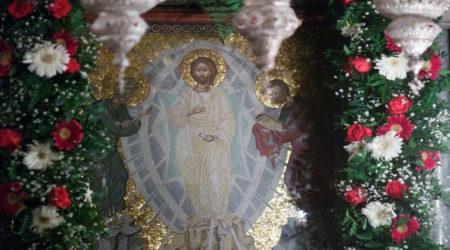 Άγιον Όρος: Ι. Μ. Παντοκράτορος – Πανηγυρική Αρχιερατική Λειτουργία