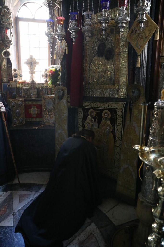 Ο Μητροπολίτης Πατρών Χρυσόστομος στην Ι.Μ.Μ. Βατοπαιδίου για την εορτή της Αγίας Ζώνης