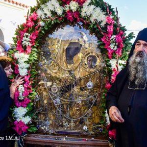 Η Θαυματουργός Εικόνα της Παναγίας Γοργοϋπηκόκου στην πανηγυρίζουσα Ιερά Μονή Παναγίας Θεοσκεπάστου (Γεννήσεως Θεοτόκου) Σοχού