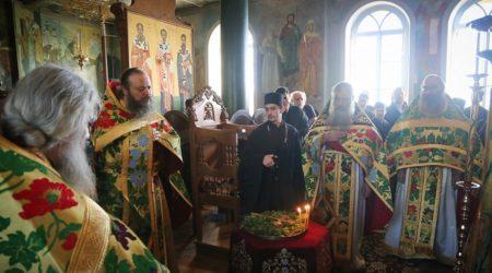 Η εορτή της Υψώσεως του Τιμίου Σταυρού στην Αθωνιάδα