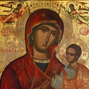 ΛΟΓΟΣ ΜΒ΄: Προσευχή προς την  Υπεραγία Θεοτόκο