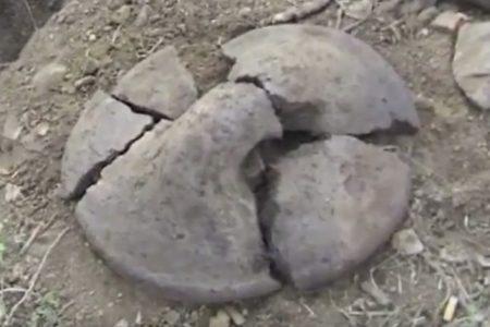 Τα μικρά αρχαιολογικά: Πήλινες γάστρες από την Αρναία Χαλκιδικής