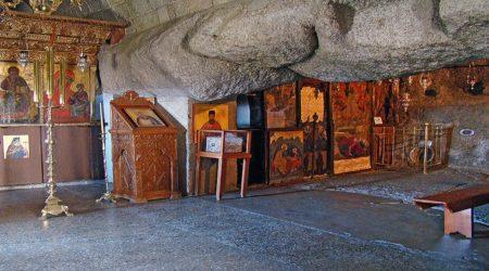Το σπήλαιο της Αποκαλύψεως στην Πάτμο