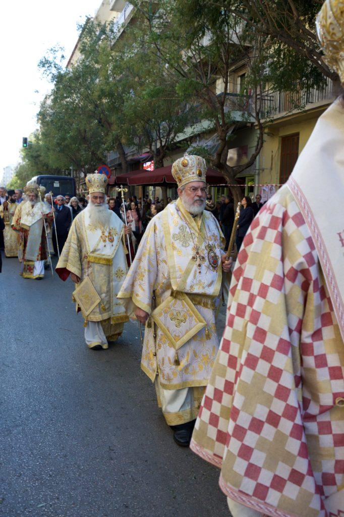 Η Θεσσαλονίκη, κλήρος και λαός τιμά τον προστάτη της Άγιο Δημήτριο