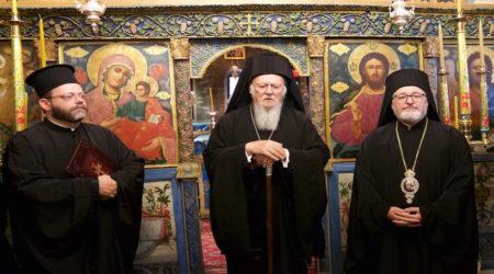 O Οικουμενικός Πατριάρχης στην Ιερά Πατριαρχική και Σταυροπηγιακή Μονή Βλατάδων