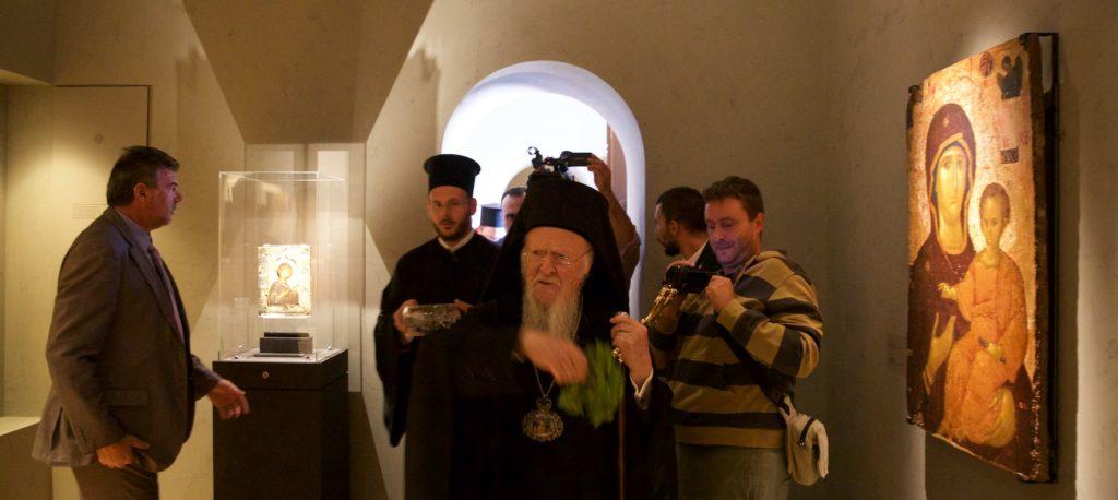 Πατριαρχικά εγκαίνια στην Μονή Βλατάδων για την έκθεση «Το Ημέτερον Κάλος»