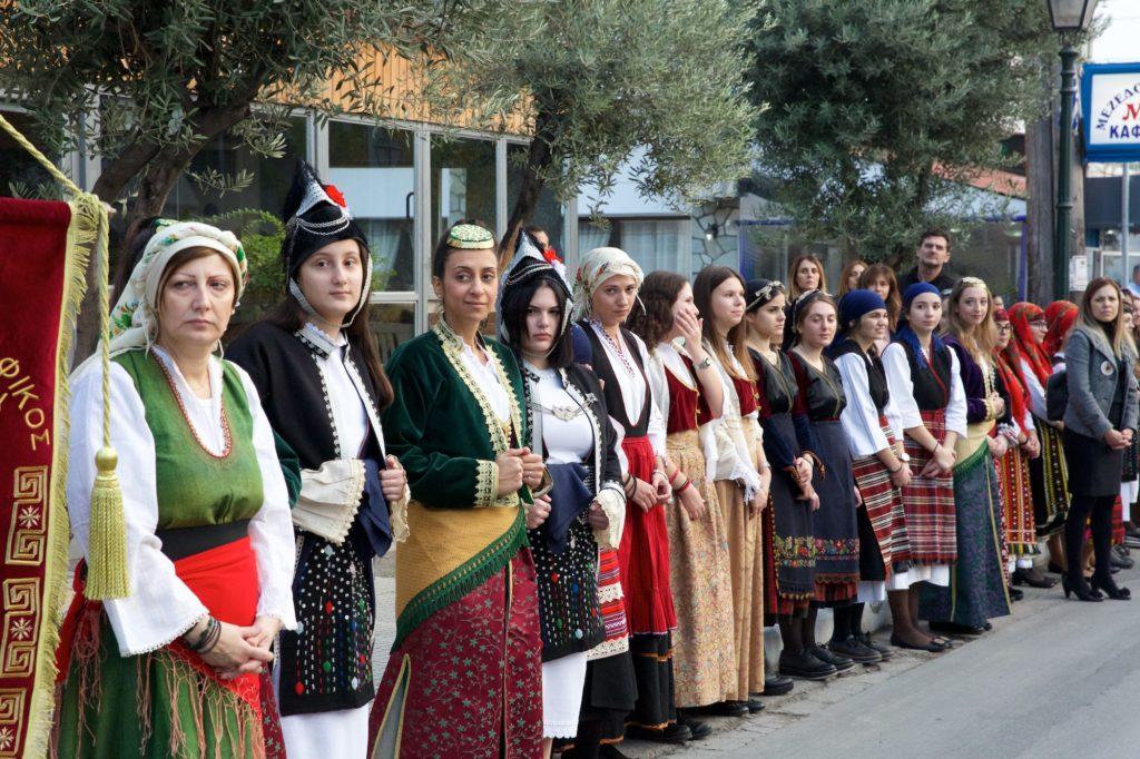 Λιτανεία προς συνάντηση της Αγίας Ζώνης στον Εύοσμο Θεσσαλονίκης