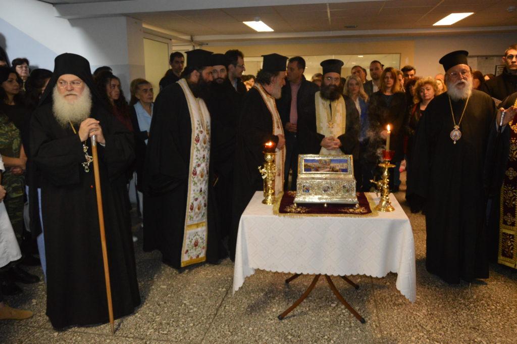 Στιγμές από την παραμονή της Αγίας Ζώνης στην Τρίπολη