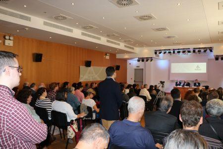 Χαιρετισμός του Γέροντος Εφραίμ Βατοπαιδινού στην Θεολογική Ημερίδα : «Τα προσωπεία του προσώπου»