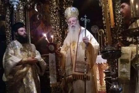 Εορτασμός του οσ. Αμφιλοχίου Μακρή στην Ι.Μ. Αγ. Ιωάννου Θεολόγου Πάτμου