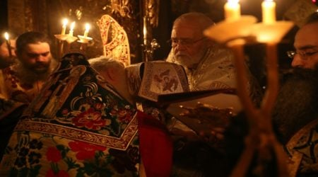 Ιερά Πανήγυρις Αγίου Ευδοκίμου στην Ι.Μ.Μ. Βατοπαιδίου (2018)