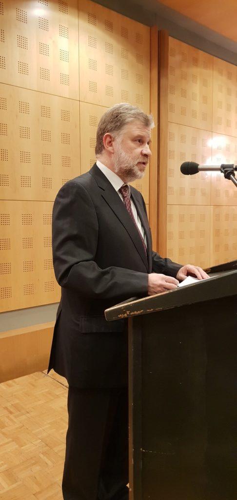 Παρουσίαση του βιβλίου του H. Tristram Engelhardt, «Μετά Θεόν: Ηθική και Βιοηθική στον αιώνα της εκκοσμίκευσης»
