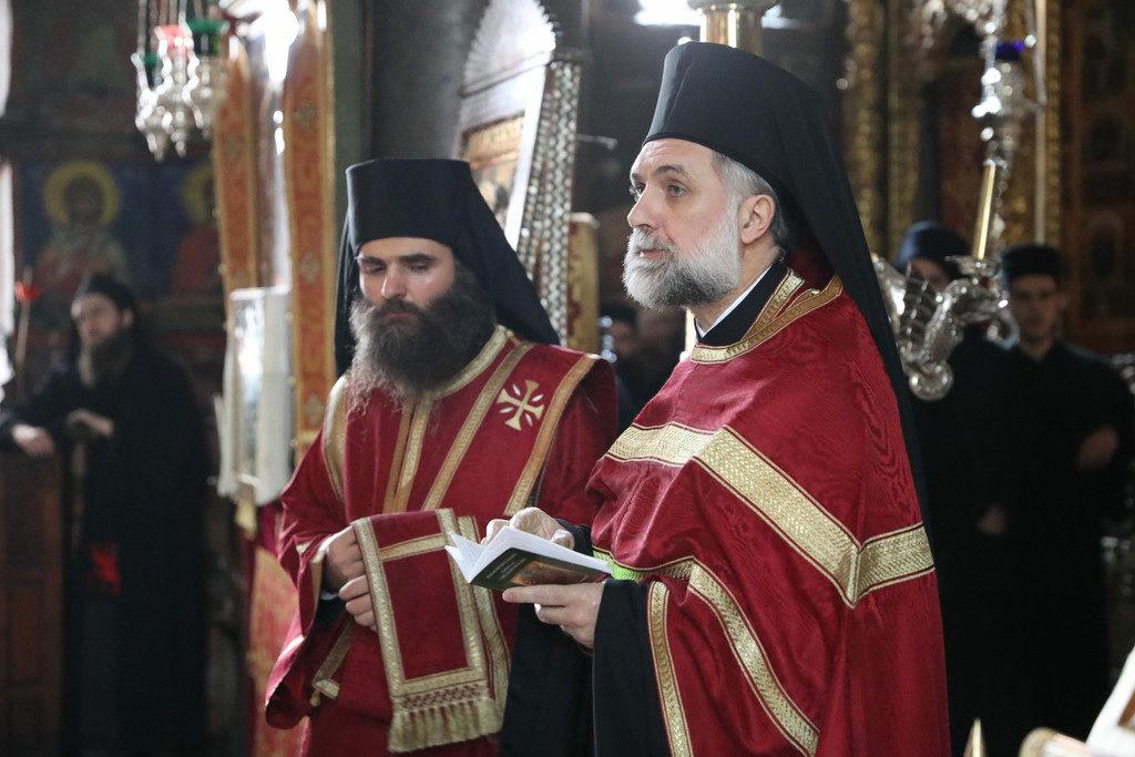 Πανήγυρη του Αγ. Ιωάννου του Χρυσοστόμου στην Ι.Μ.Μ. Βατοπαιδίου (2018)