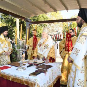 Πατριαρχική Θεία Λειτουργία στην πόλη όπου γεννήθηκε ο Άγιος Νεκτάριος