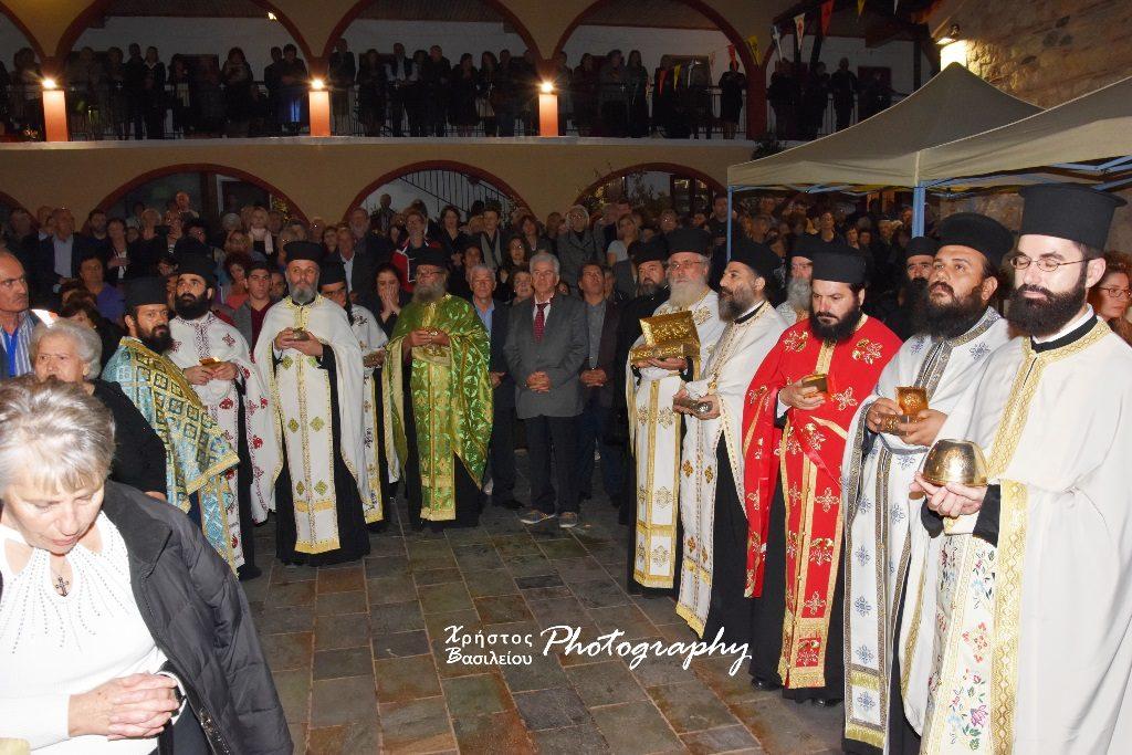 Λαμπρός εορτασμός της Ι. Μονής Οσίου Δαυΐδ του Γέροντος