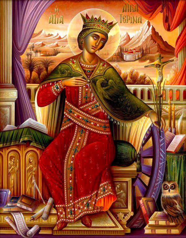 Η Αγία Αικατερίνη η μεγαλομάρτυς | Πεμπτουσία