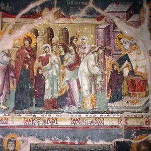 Θεολογική προσέγγιση και ερμηνεία της εικόνας των Εισοδίων της Θεοτόκου