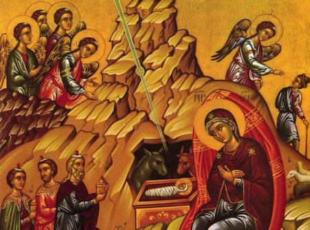 «Χριστός γεννάται – Μυστήριον ξένον» – μέλος Ματθαίου Βατοπαιδινού