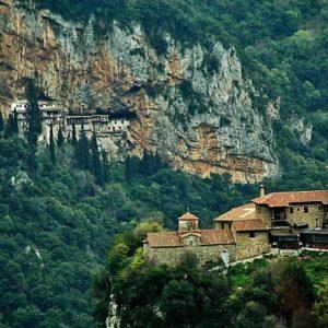 Ιερά Μονή Φιλοσόφου Γορτυνίας, «το κρυφό σχολειό»