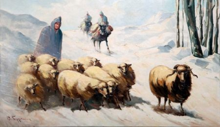 Oι κτηνοτρόφοι ήταν έτοιμοι να αναχωρήσουν για τα χειμαδιά