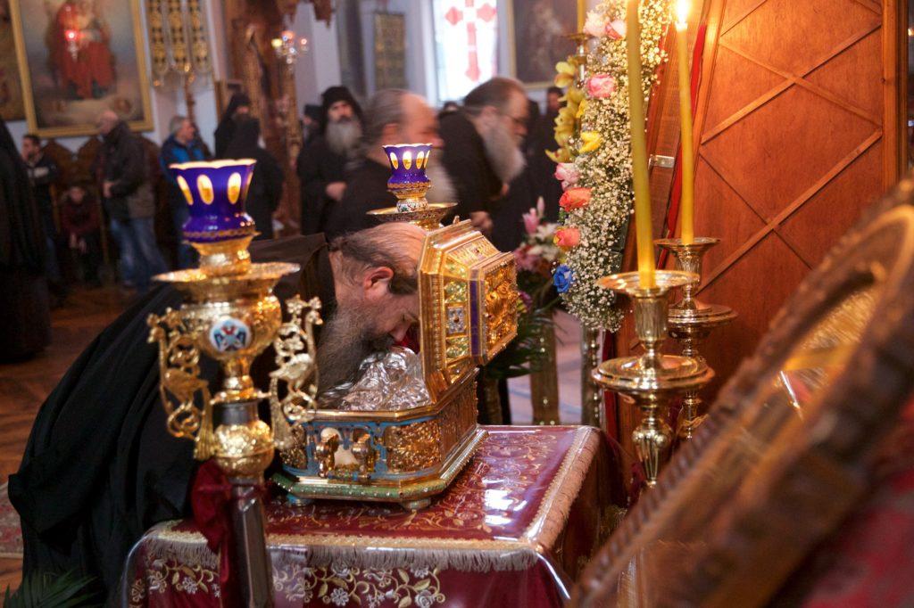Τιμώντας τον Αλιέα ψυχών. Θεία Λειτουργία στη Σκήτη του Αγίου Ανδρέα (Σεράι)