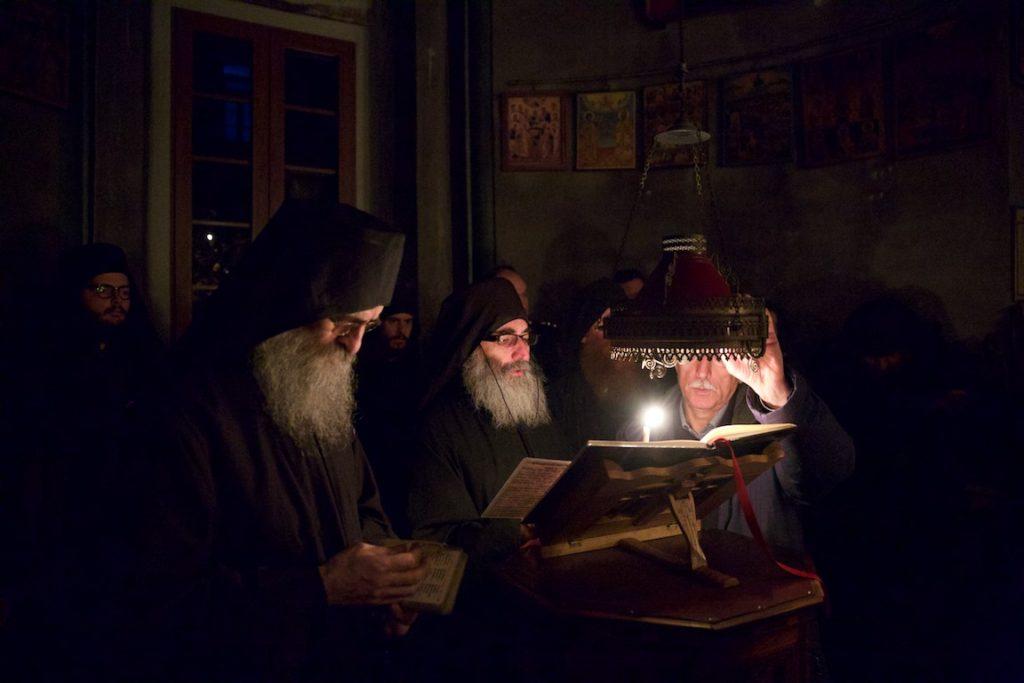 Ενθρόνιση του νέου Καθηγουμένου της Ιεράς Μονής Κωνσταμονίτου