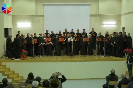 Ύμνοι των Χριστουγέννων από τον Βυζαντινό Χορό «Αθηναίοι Υμνωδοί»