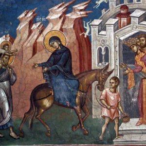 Το παιδίον Ιησούς ως μετανάστης και ξένος