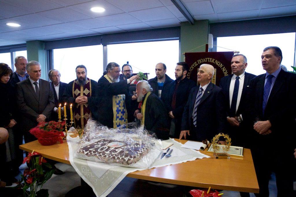 «ἐν φυλακῇ ἤμην, καὶ ἤλθετε πρός με». Ο Σύλλογος Πολυτέκνων Θεσσαλονίκης τιμά τον π. Γερβάσιο Ραπτόπουλο