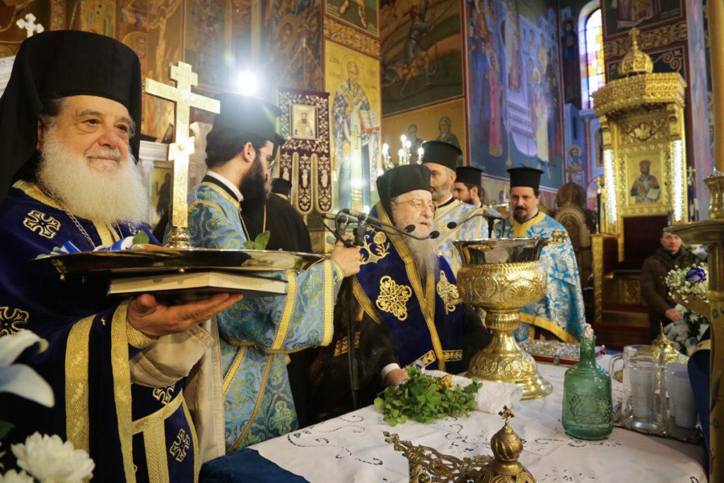 Η Εορτή των Θεοφανείων στη Συμβασιλεύουσα (2019)