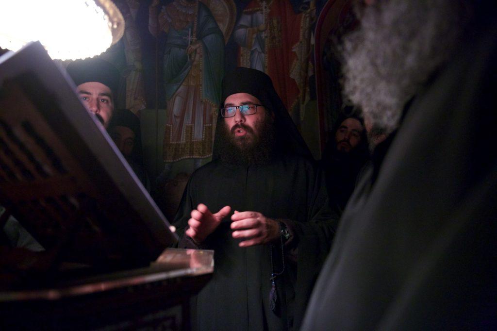 Ιερά Μονή Σίμωνος Πέτρας. Αγρυπνία του Αγίου Σίμωνος