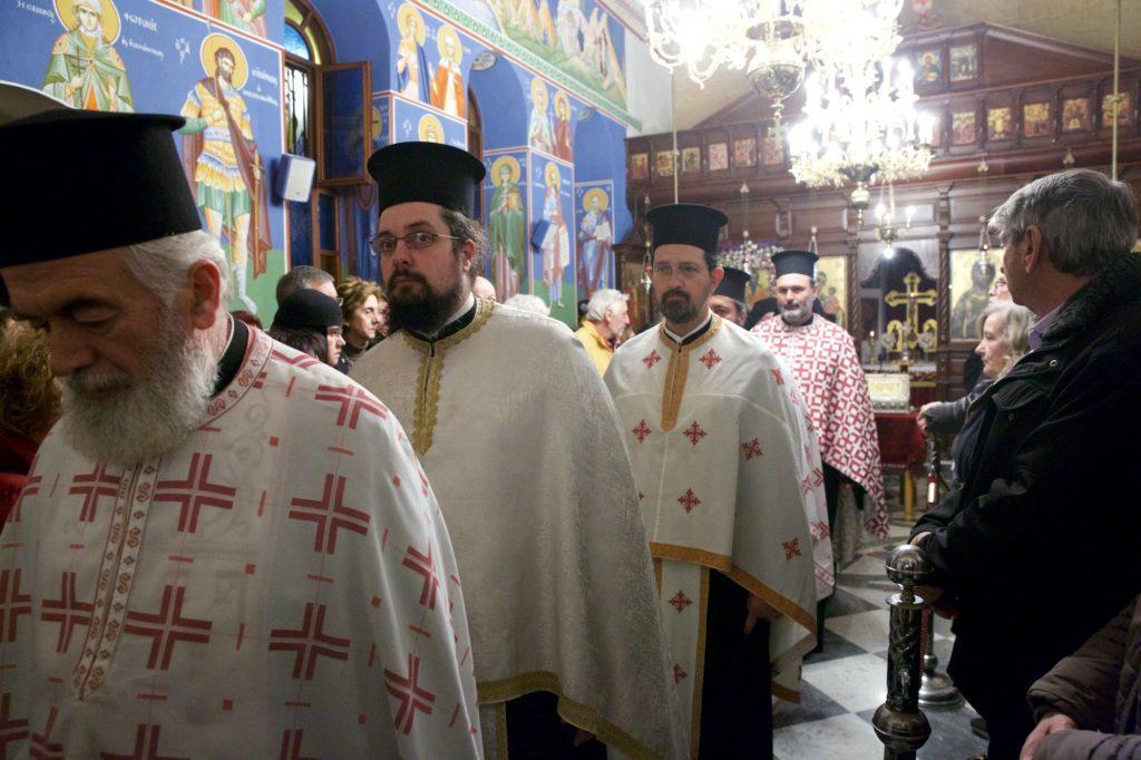 Μέγας Πανηγυρικός Εσπερινός στον Άγιο Χαράλαμπο, Μετόχι της Σιμωνόπετρας