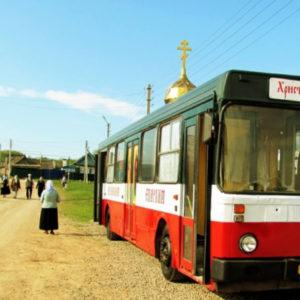 Εκκλησιασμός σε… 4 τροχούς! Κινητές εκκλησίες στη Ρωσία